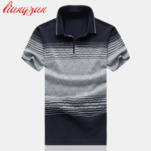 Men Polo Shirts Brand Summer Short Sleeve Casual Slim Fit Big Size M-6XL Solid Color Breathable Business Polo Shirts SL-G13