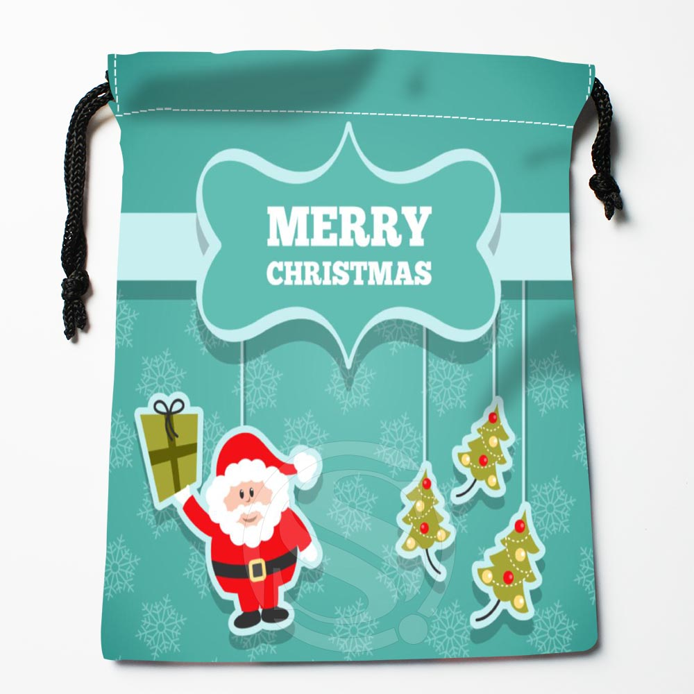TF&92 New Christmas Snowman #!s Custom Printed receive bag Bag Compression Type drawstring bags size 18X22cm &812#92m
