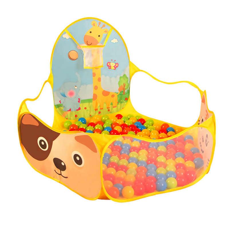 Детское защитное ограждение, портативный складной манеж, детская игра, игрушки, игровая палатка, цвет океана, мяч, игры, яма, защитное ограждение для бассейна, продукты