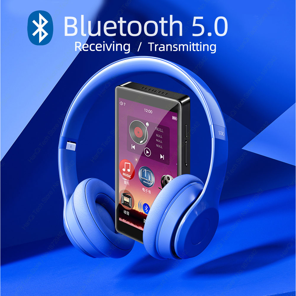 Lecteur MP3 à écran tactile complet RUIZU H1 lecteur de musique Bluetooth 8GB avec Support de haut-parleur intégré enregistrement Radio FM vidéo E-book - 4