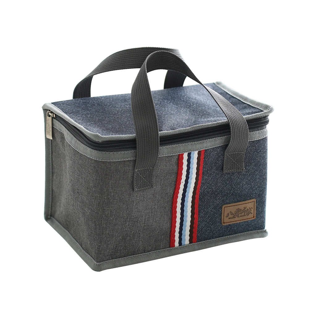 Oxford Thermal Lunch Bag Insulated Cooler Storage Women kids Food Bento Bag Portable Leisure Accessories Supply Product 12.1