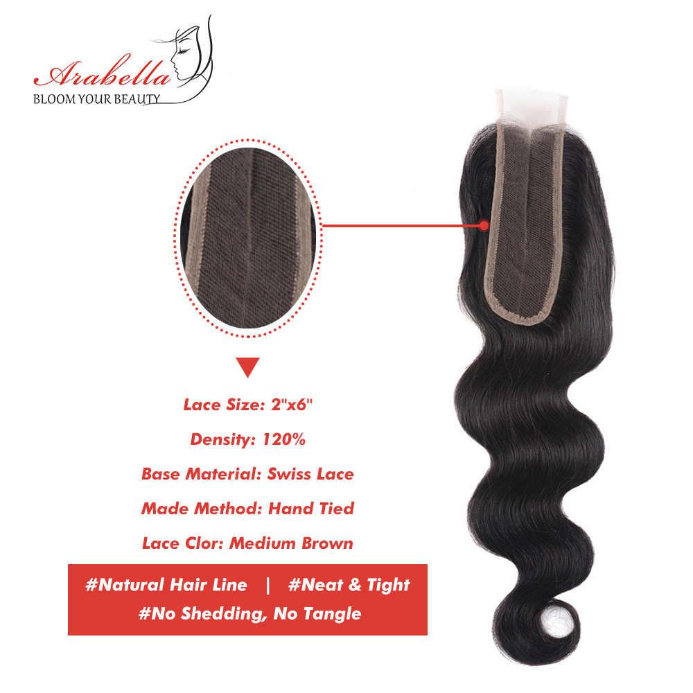 2x6 Ким К волнистые бразильские закрытые волосы Арабелла Реми человеческие волосы Кружева Закрытие глубокая средняя часть с волосами младенца