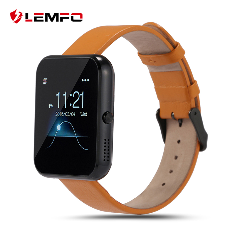 LEMFO LF09 Bluetooth Smart Watch MTK2502 Wrist Smartwatch for IOS Android Smartphone