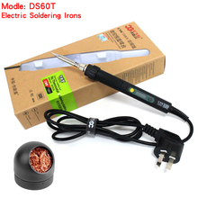 CXG DS60T electric Soldering Irons welding tool iron tip 220V 60W Welding Gun Repair Tool Kit