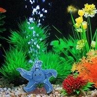 Aquarium Pond Pump Hydroponics Diffuser Star Fish Tank Bubble Air Stone Aerator Adjust The Air Pressure