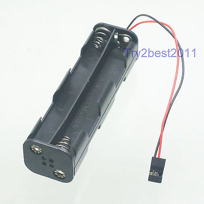 8 x AA Battery Box JR Futaba Male FOR RC Radio Control Transmitter Hitec