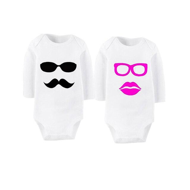 1d79985e43 Culbutomind Menino E Menina Óculos De Sol Terno Do Corpo Rosa OU Preto Roupa  Do Bebê