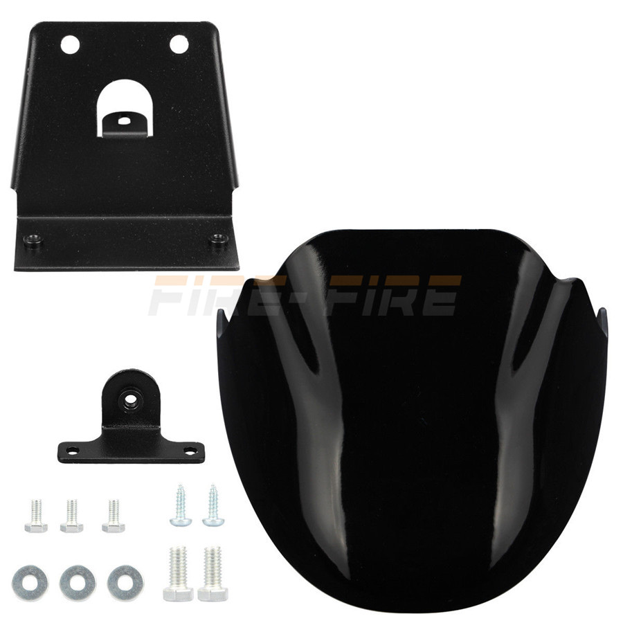Motorcycle Black Front Chin Spoiler Air Dam Fairing Cover Mudguard Fairing for <font><b>Harley</b></font> Sportster 1200 XL <font><b>Iron</b></font> <font><b>883</b></font> 2004-2016 image