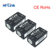 Free shipping Low cost 5 pcs/lot AC DC 90 264V to 5V power supply module Hi Link HLK PM01 CE RoHs certifications