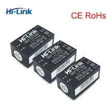Módulo de fonte de alimentação hi link, frete grátis baixo custo 5 pçs/lote AC DC 90 264v to 5v HLK PM01 certificações do ce