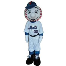 hot sale mr met mascot costume new cartoon boy costumes baseball mascot costumes