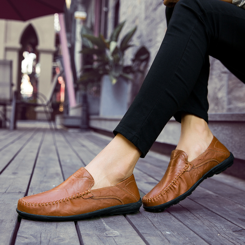 HTB1slpnkqSWBuNjSsrbq6y0mVXaN JKPUDUN Italian Mens Shoes Casual Luxury Brand Summer Men Loafers Genuine Leather Moccasins Comfy Breathable Slip On Boat Shoes