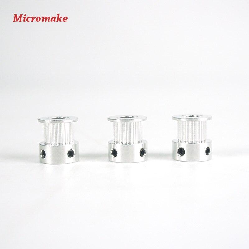 Частини 3D принтера Micromake 3 шт. / Лот GT2 16 - Офісна електроніка