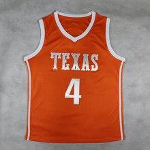 61fbc5370 2018 New  4 Mohamed Mo Bamba Texas College Basketball Jersey Retro  Throwback Jerseys Mens Embroidery