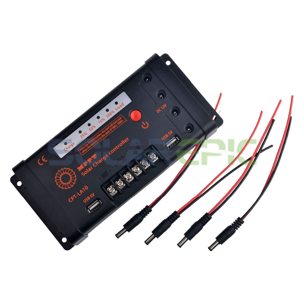 MPPT 10A Solar Charge Controller 55V PV 12V/24V AUTO Battery Regulator aftermarket free shipping motorcycle parts for motorcycle 2006 2007 2008 2009 kawasaki zx14 zx14r zx 14r axle caps covers chrome
