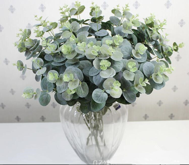 DIY 52CM Artificial Plants Bouquet Green Fake Plants ...