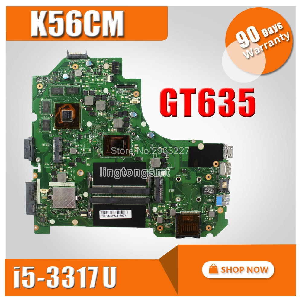K56CM Motherboard REV2.0 I5-3317U GT635 2G For ASUS S550CM S56C S56CM K56C Laptop motherboard K56CM Mainboard K56CM motherboard boys jeans kids trousers fashion children girls denim pants spring autumn baby casual soft long pants elastic jeans color gray