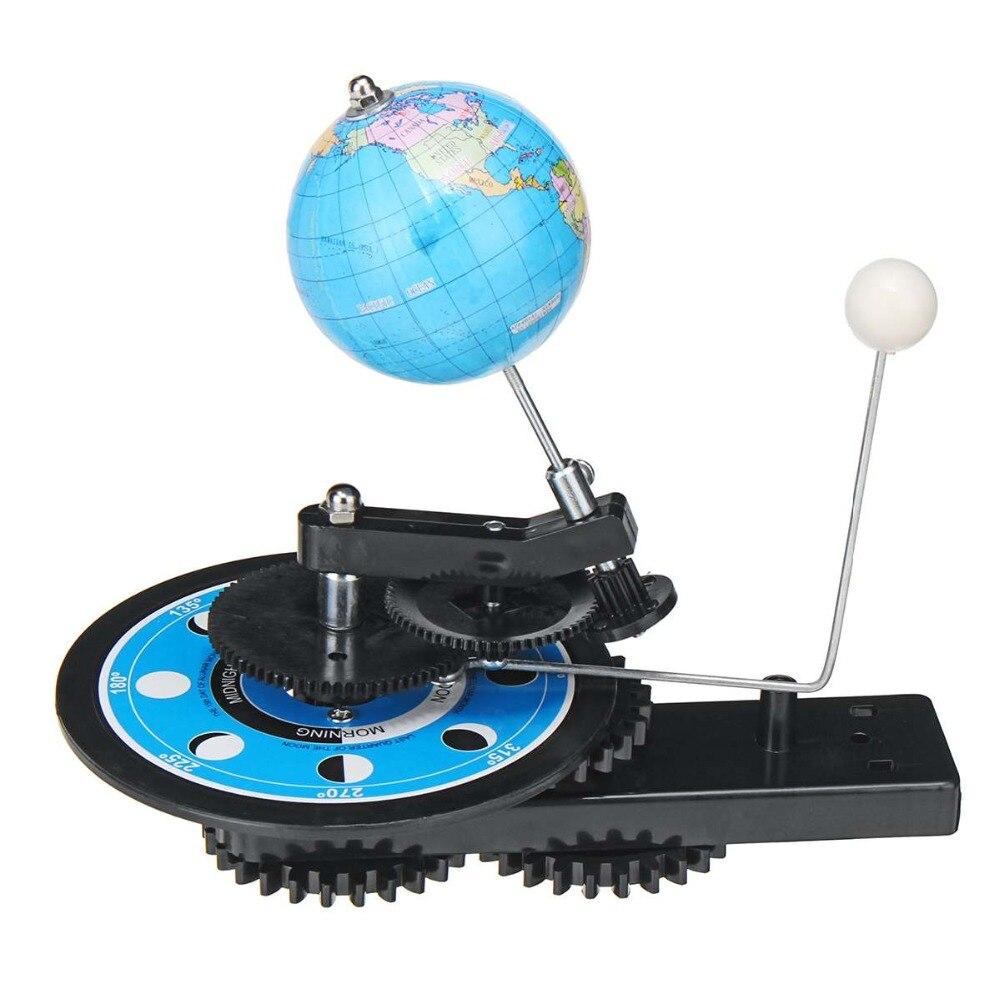 Système solaire Globes rotatif terre soleil lune planétarium Orbital modèle géographie astronomie Science éducation enseignement trousse d'outils - 5