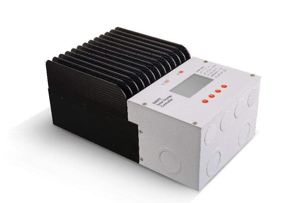 12V/24V/36V/48V auto recognization Solar charge controller 60A MPPT mode with digital Screen solar home system glukhar v