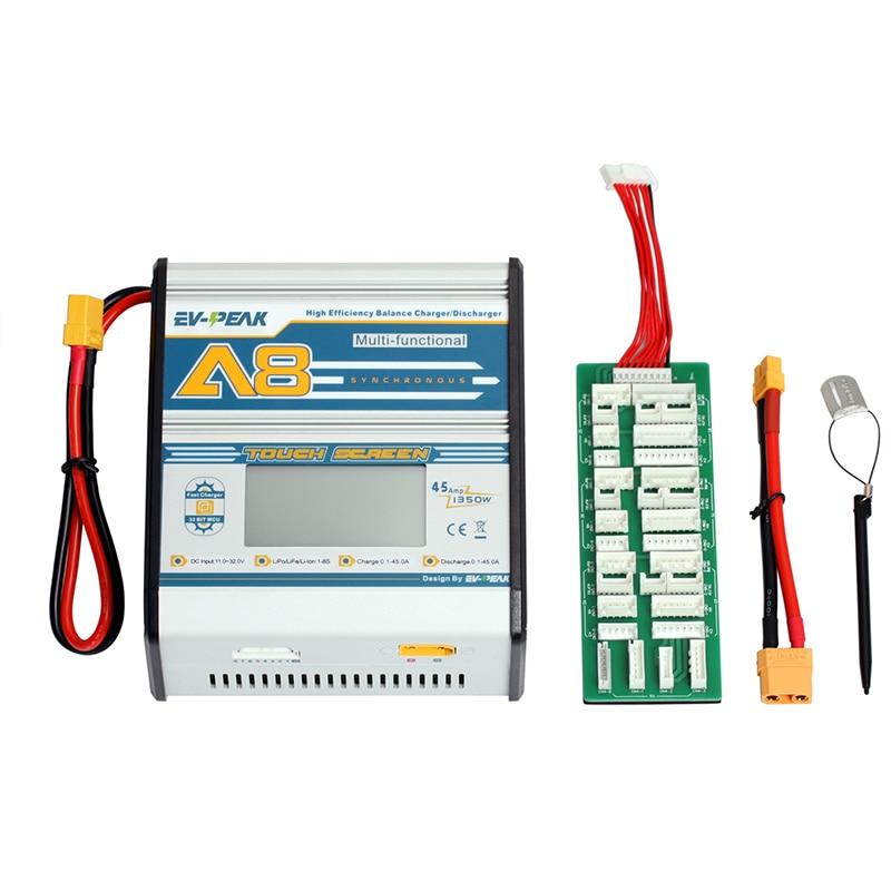 Cargador rápido de la pantalla táctil dc 1350w 45a para la batería - Juguetes con control remoto - foto 4