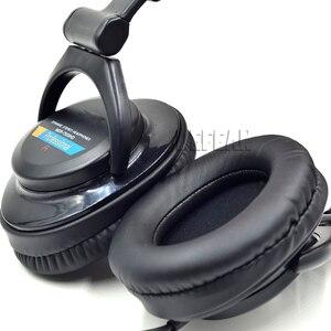 Image 5 - อัพเกรดหนังเทียมเบาะหูแผ่นปลอกหมอนสำหรับsony mdr 7509hd v600 v900 hd z600หูฟังดีเจ