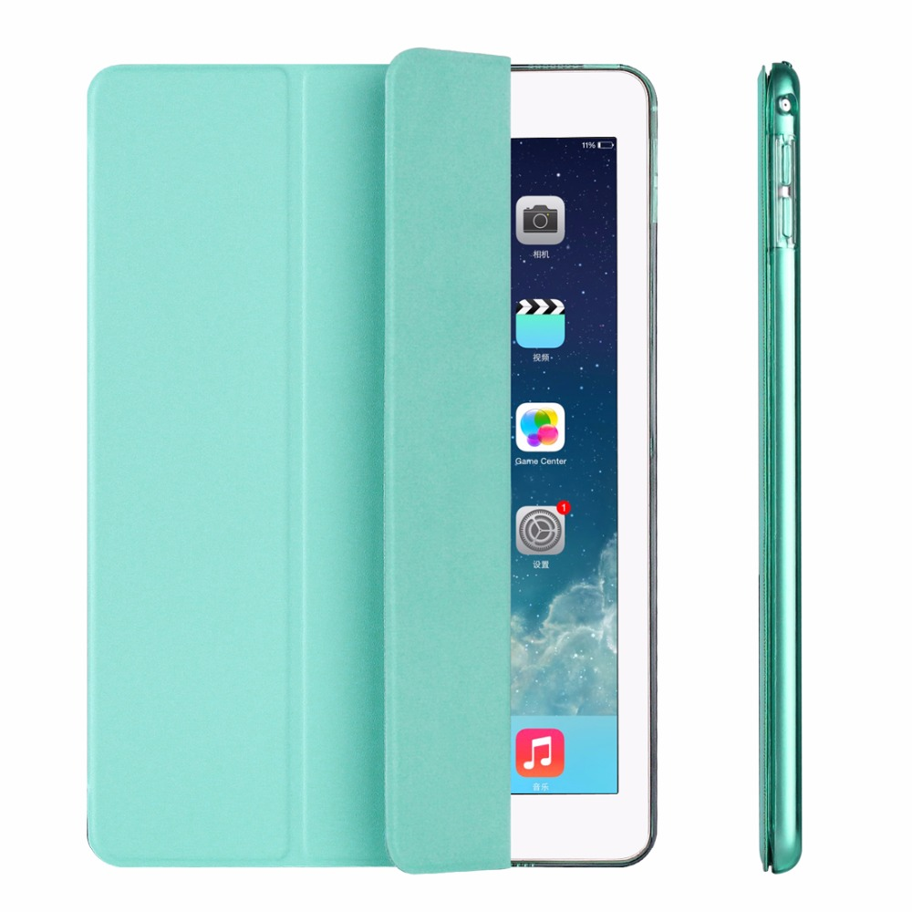Yippee Ultra Slim Smart Flip Stand PU Leather Cover Case For Apple Ipad Mini 4 Case Retina Display Wake Up Sleep Function