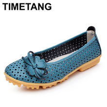 New 2016 High Quality Women genuine Leather Flats Shoes Cut Outs Ballet Women Flats Comfort Shoes Woman 4 Colors Moccasins,8001