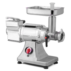 Podwójna głowica szlifierka do sera maszynka do mielenia mięsa ze stali nierdzewnej elektryczny ser robot kuchenny handlowy 900W SY-CG22DM