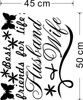 * Beste Freunde Mann Frau Englisch Zitate PVC Wandaufkleber L Wohnkultur  Hochzeit Wohnzimmer Schlafzimmer Dekor Valentinstag Geschenk In * Beste  Freunde ...