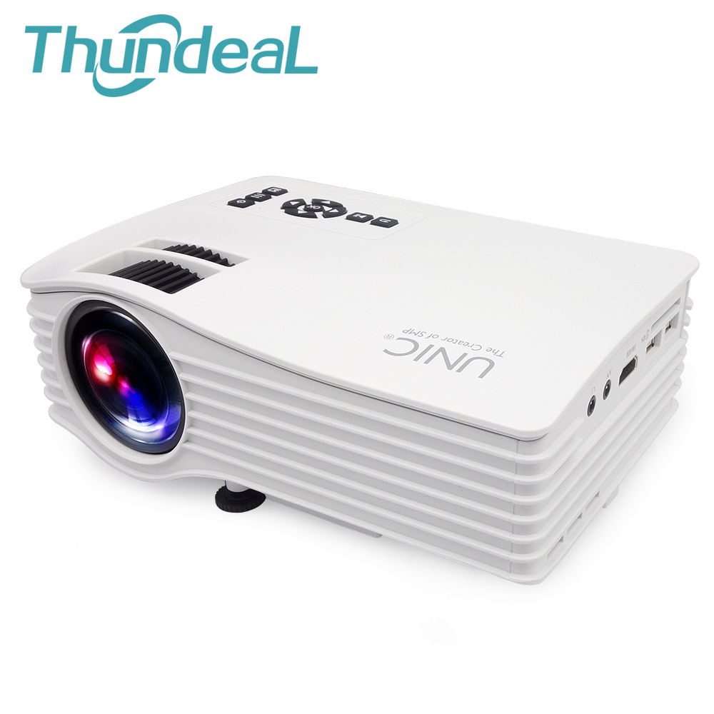 UNIC UC36 Mini Projector Max Throw 130inch Portable Multimedia LED Projector with HDMI AV USB Proyector Home Theater Beamer