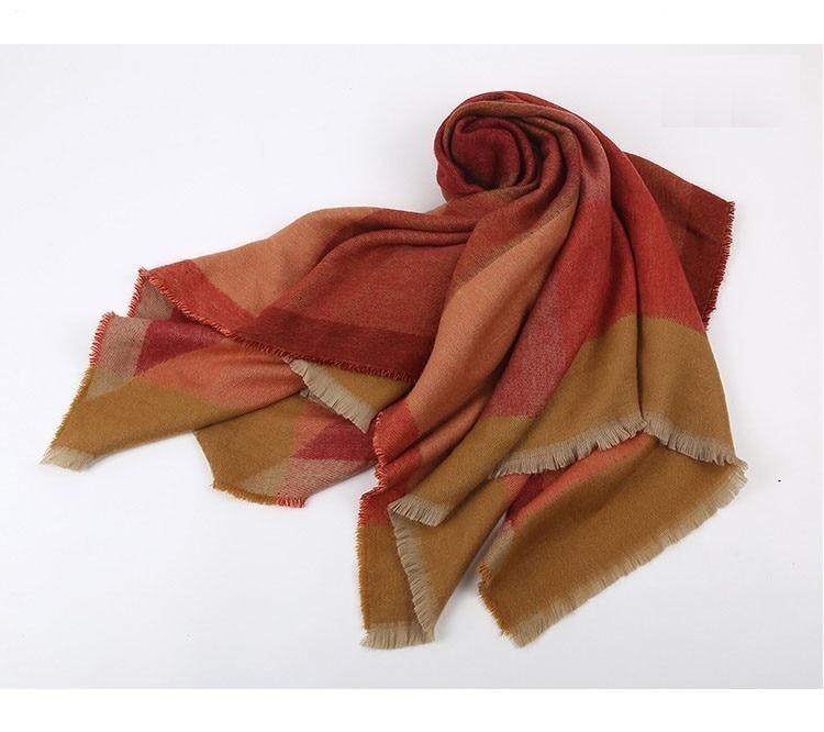 Burnt Orange Scarf | Blanket Scarves