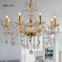 Modern crystal chandelier K9 crystal 110~240V crystal chandelier for living room Kitchen light Lamp
