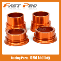Front Rear Wheel Hub Axle Spacers Kit For KTM SX SX F XC F 125 150 200 250 300 350 450 2013 2014
