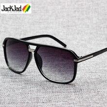 JackJad 2019 gafas De Sol De moda para hombre, gafas De Sol cuadradas con gradiente, gafas De Sol con diseño Vintage, gafas De Sol económicas, gafas De Sol 1155