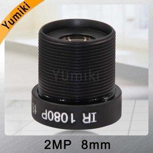 """Image 4 - Yumiki CCTV объектив F2.0 M12 * 0,5 8 мм 45 градусов камера видеонаблюдения плата объектив для 1/3 """"или 1/4"""" ccd"""