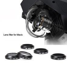 UV CPL ND4 ND8 ND16 Filtro de la Lente de Haz de Mavic Pro y Platino Drone, Color Gradual Filtro de piezas de Repuesto