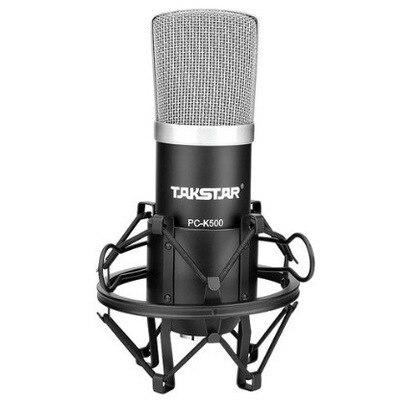 Takstar PC-K500 Конденсаторный Микрофон Профессиональный Персональный Компьютер Вещания Studio Запись Микрофон К Песню PK ISK BM-800