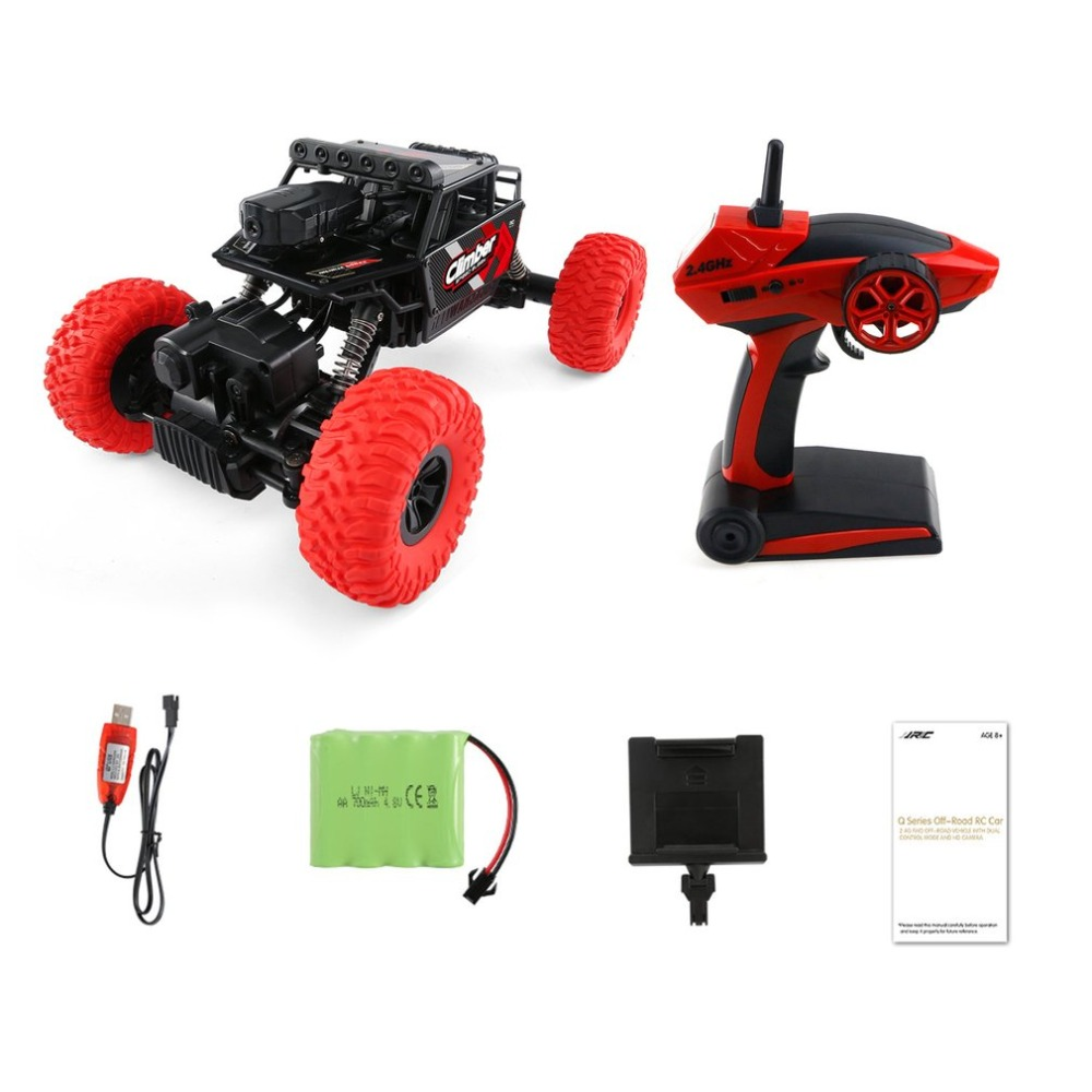 OCDAY 1:32 Full Scale 4CH 2WD 2.4GHz Mini Off-Road RC Racing Car Truck Vehicle High Speed 20km/h Remote Toy for KidsOCDAY 1:32 Full Scale 4CH 2WD 2.4GHz Mini Off-Road RC Racing Car Truck Vehicle High Speed 20km/h Remote Toy for Kids