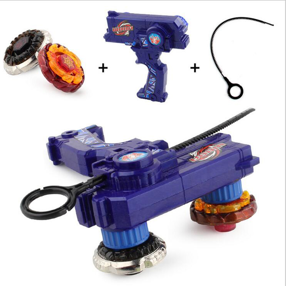2pcs Gyro Toy Kit Leo Style Beyblade Metal Spinning Tops Gyro Fusion Gift Limited Edition Children Game Toys