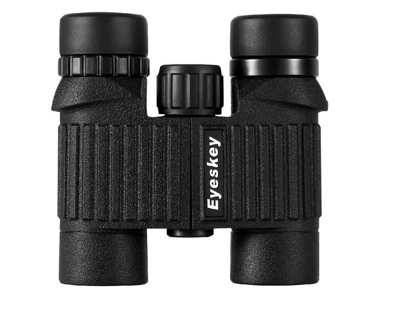 Eyeskey New 10X25 HD Binoculars Wide Vision Center Focus Optical Lens Outdoor Camping Bird watching Hunting Telescope Waterproof eyeskey binocular telescope 8x32 hd fully multi coated optical for outdoor travel sightseeing hunting sport match concert orange