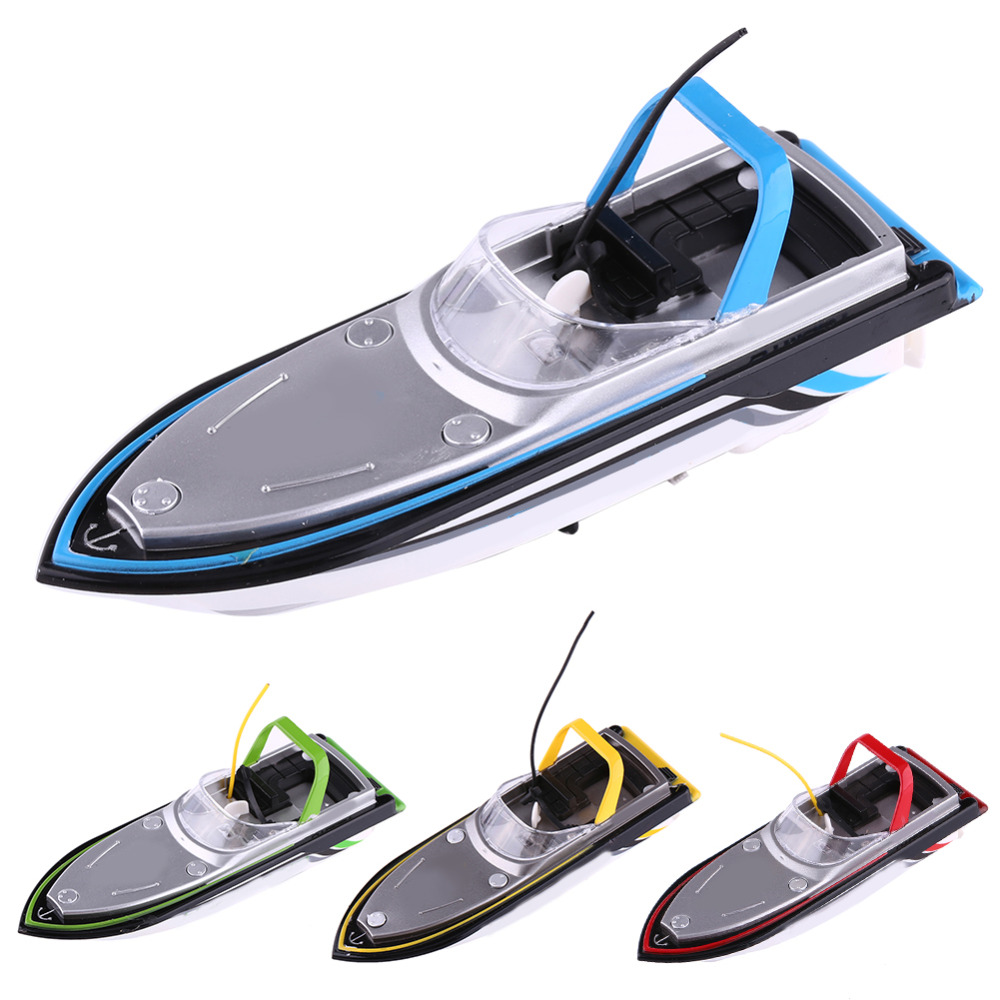 4Colors RC Speedboat High Speed Racing Boat Underwater Motor Boat Toy Model Vehicle 27MHz / 40MHz Remote Control Racing Boat