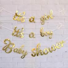 LAPHIL – bannière de réception-cadeau pour bébé, Ballons pour garçon et fille, fournitures de fête, décorations pour fête prénatale, révélation du sexe, Ballons bleus et roses
