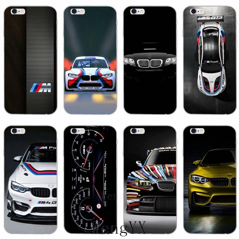 2018 Nieuwe Bmw M Auto Logo Slanke Siliconen Zachte Telefoon Case Voor Iphone X 8 8 Plus 7 7 Plus 6 6 S Plus 5 5 S 5c Se 4 4 S