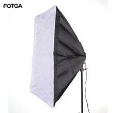"""FOTGA 60x90cm 24x35 """"Softbox Fotografia in Studio per 5 in 1 Presa E27 Lampada Della Luce lampadina"""