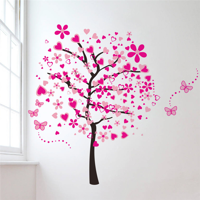 family tree wall decal big size vinilo decorative living room baby