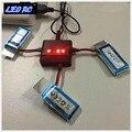 LEO RC 3 pcs 3.7 V 380 mah Li-po bateria para mini aviões de controle remoto MJX X916H, H31 drones