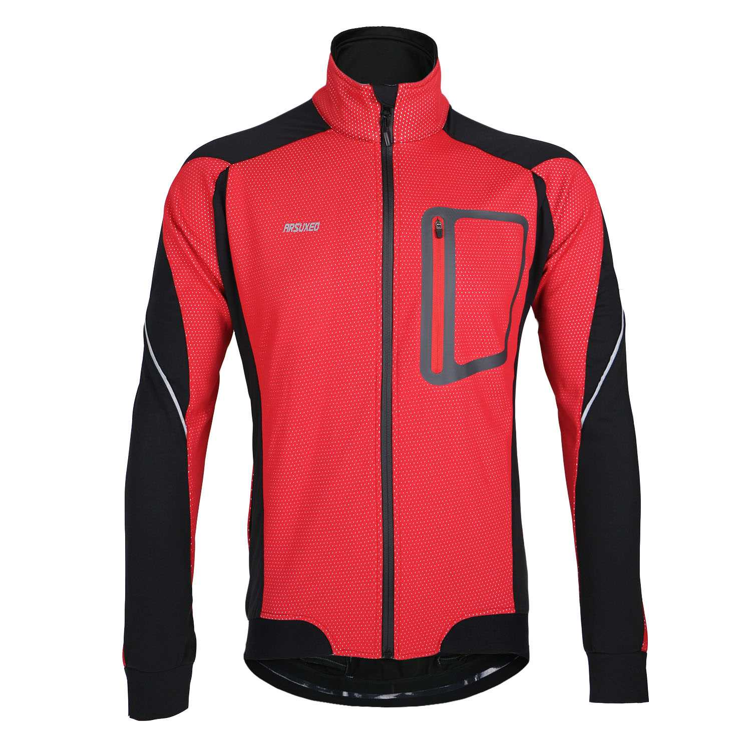 ФОТО ARSUXEO Outdoor Sports MTB Cycling Road Mountain Clothes Bike Bicycle Fleece Jersey Long Sleeve Clothing