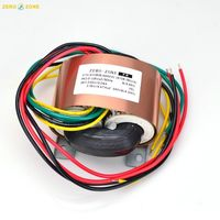 GZLOZONE 50VA HIFI Copper R core Transformer 0 220V 3.15V 0 3.15V for PRT 11A L10 21