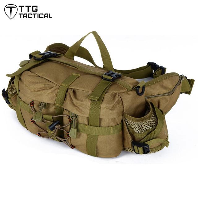 Saco Da Cintura MOLLE X-Força Militar Camuflagem Ataque Corpo Cruz Pacote Muliuse Viagem Pacote de Ombro Único