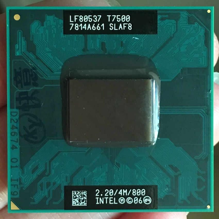 PGA CPU Del Computer Portatile processore Intel Core 2 Duo T7500 478 cpu 100% di lavoro correttamente